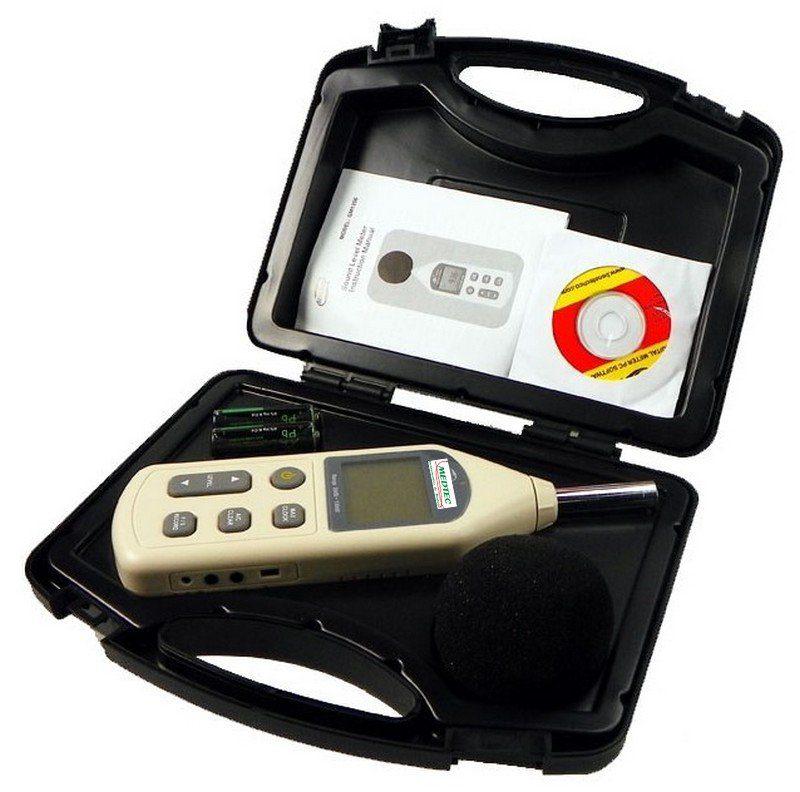 decibelímetros digitais